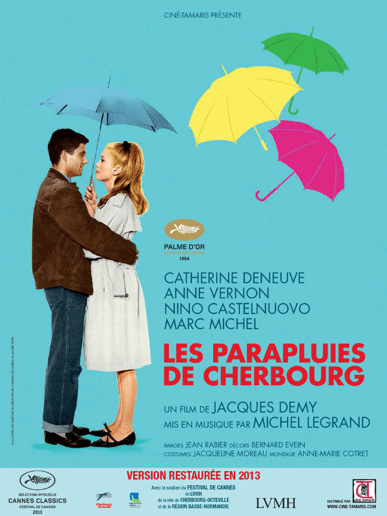 Poster of the Umbrellas of Cherbourg