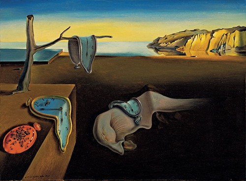 The Persistence of Memory, a painting by Dali